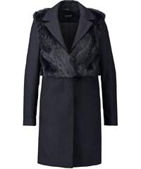 Topshop Wollmantel / klassischer Mantel navyblue