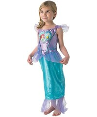 Rubies Ariell Loveheart Child - kostým Ariel mořská víla - LD 7 - 8 roků