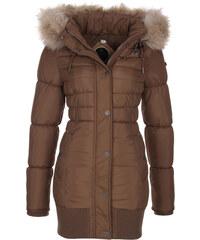 DreiMaster Dámský zimní kabát 36133891_sand