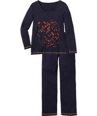 bpc selection Pyjama langarm in blau für Damen von bonprix