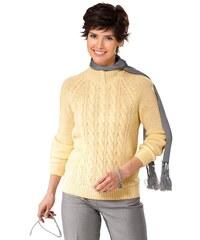 CLASSIC BASIC Damen Classic Basic Pullover gelb 38,40,42,44,46,48,50,52,54