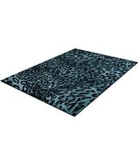 Teppich Trend-Teppiche Kolibri 11066 Leoparden Design TREND TEPPICHE blau 2 (B/L: 80x150 cm),3 (B/L: 120x170 cm),4 (B/L: 160x230 cm),6 (B/L: 200x290 cm)