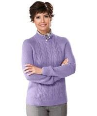 Damen Classic Basic Pullover CLASSIC BASIC lila 38,40,42,44,46,48,50,52,54