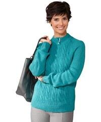 CLASSIC BASIC Damen Classic Basic Pullover blau 38,40,42,44,46,48,50,52,54