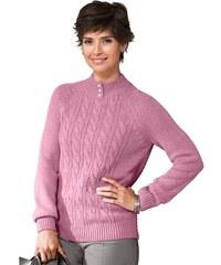 Damen Classic Basic Pullover CLASSIC BASIC rot 38,40,42,44,46,48,50,52,54