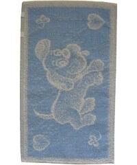 Frotex Dětský ručník Pejsek světle modrý 30x50 cm