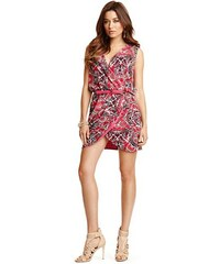 Guess by Marciano Šaty Bohemian Butterfly Wrap Dress