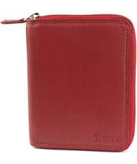 Dámská kožená peněženka Esquire 095659 červená