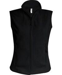 Fleecová vesta Melodie - Černá S