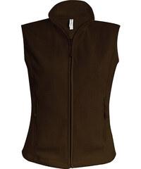Fleecová vesta Melodie - Čokoládová S