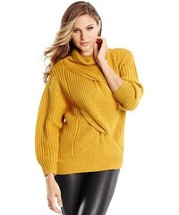 Guess by Marciano Svetr Rosie Braided Cable Sweater