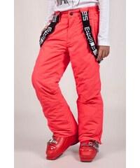 SAM 73 Dívčí lyžařské kalhoty s kšandami GK 45 119 - růžová neon