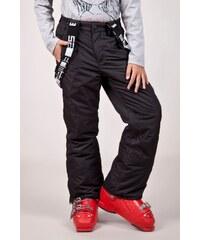 SAM 73 Dívčí lyžařské kalhoty s kšandami GK 45 500 - černá