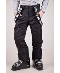 SAM 73 Chlapecké lyžařské kalhoty s kšandami BK 47 500 - černá