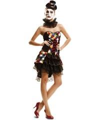 Kostým Sexy Clownie Velikost M/L 42-44