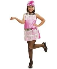 Dětský kostým Charleston růžový Pro věk (roků) 10-12
