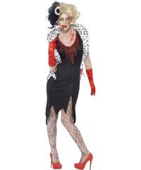 Kostým Zombie Madame Evil Velikost L 44-46