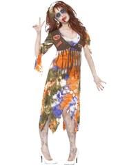 Kostým Zombie Hippiesačka Velikost L 44-46