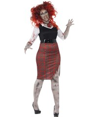 Kostým Zombie školačka Velikost L 44-46