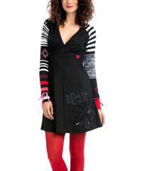Dámské šaty Desigual Susana černá XS