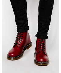 Dr Martens Original - Bottines à 8 paires d'œillets - Rouge