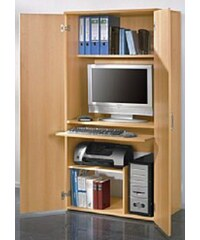 Baur PC-Schrank Höhe ca. 161 cm braun