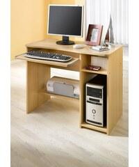 Schreibtisch 8048 Baur braun