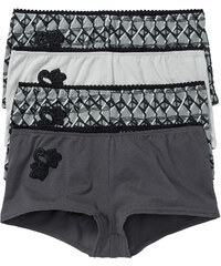 bpc selection French (4er-Pack) in grau für Damen von bonprix