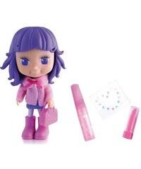 Teddies Panenka Cocodels Demi plast 16cm s pokojíčkem + make-up doplňky