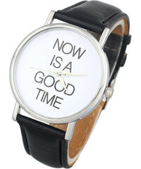 Hodinky Punctuality black