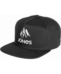 kšiltovka JONES - Basic Cap Black (BLACK)