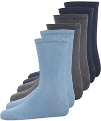 Name it NIT 6 PACK Socken asphalt