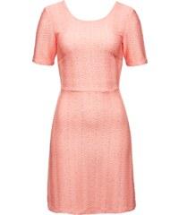EDITED The Label Tailliertes A linien Kleid aus texturiertem Jersey Texas