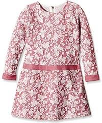 Coconella Mädchen Kleid mit zartem all-over Schmetterlings-Print