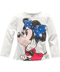 DISNEY Langarmshirt mit Minnie Mouse Motiv
