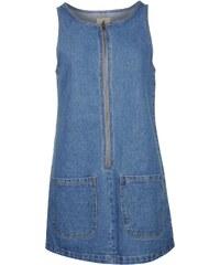 SoulCal Denim Zip Dress Blue