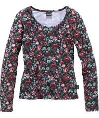 ARIZONA Langarmshirt eng anliegend für Mädchen