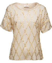 DAY BIRGER ET MIKKELSEN Seidenshirt mit Stickerei Day Lustre
