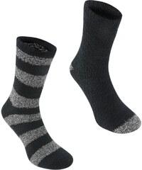 Ponožky Giorgio 2 Pack Lounge pán. černá
