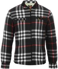 Košile Lee Cooper Lined Fleece dět. černá/bílá/červená
