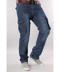 SUNBIRD kalhoty pánské TD-2103 kapsáče jeans
