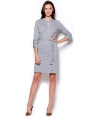 FIGL Dámské šaty M287 grey