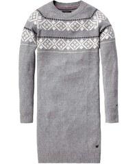 Značkové dámské pletené šaty HILFIGER DENIM (vel.S skladem) S šedá Dopravné zdarma!