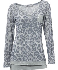 ASHLEY BROOKE Bedrucktes Langarmshirt