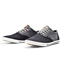 Jack & Jones Schwarz und Grau, Leinen Sneakers