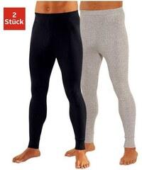 Lange Unterhose (2 Stück) Leggings aus weichem Single Jersey Clipper Farb-Set 4,5,6,7,8,9