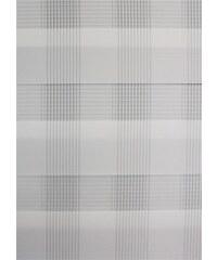 Gardinia Schiebegardine Flächenvorhang Day & Night Karo (1 Stück mit Zubehör) weiß H/B: 245/60 cm
