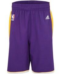 LA Lakers NBA Swingman Basketballshort Herren adidas Performance lila L - 54,M - 50,S - 46,XL - 58