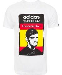 adidas Performance Casillas T-Shirt Herren weiß L - 54,M - 50,XL - 58