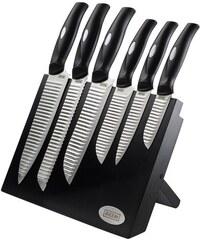 BEEM Messerblock HONSHU Master Edelstahl-Messerset schwarz